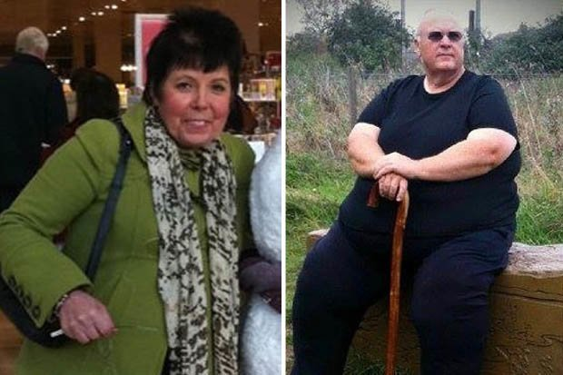 How to lose weight Couple shed more than 24st on ONE simple plan