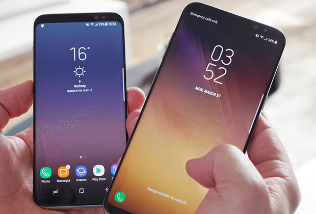 Dynamic Wallpaper For Iphone 7 Plus Samsung Galaxy S8 Launch Live World S First Infinity