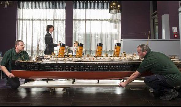 Huge Replica Of Mauretania Ship To Fetch 50k At Auction