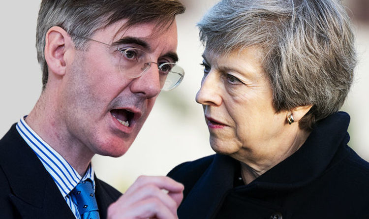 Brexit News Rees Mogg Warns May He Will Vote Down Brexit