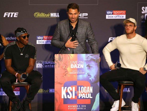 Ksi Vs Logan Paul 2 Eddie Hearn Makes Surprise Admission Over Ksi S Fitness Ahead Of Bout