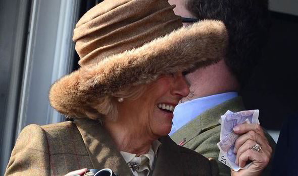 Camilla Duchess Of Cornwall Gears Up For A Flutter During