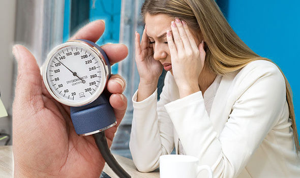 Low blood pressure symptoms Feeling dizzy and light-headed could be
