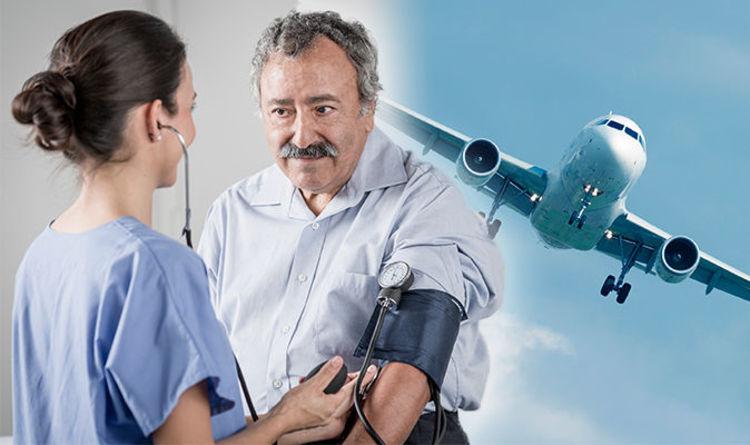 High blood pressure symptoms and signs Can you fly with