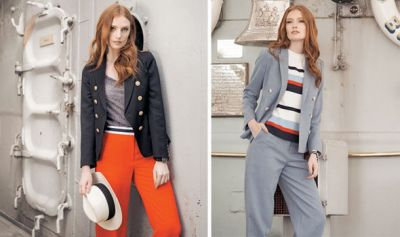 New waves: Nautical fashion from Reiss, New Look and more ...
