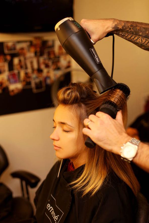Hair Styling Spray X Factor Hair Stylist Jamie Stevens Guide On How To Get