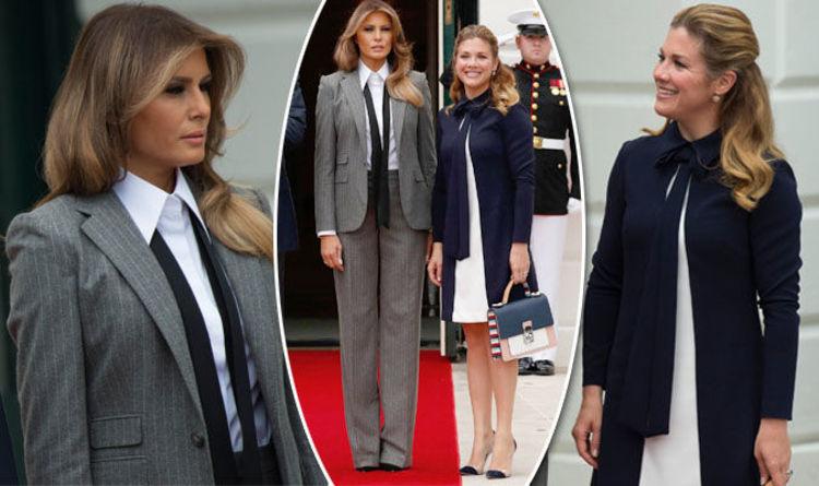 Melania Trump Vs Sophie Gregoire Donald Trump And Justin