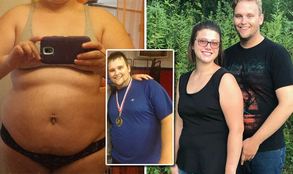 Weight loss Obese couple reveal how they lose 22 stone with one