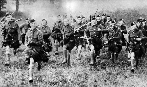 Roles Royal Car Wallpaper Scotland The Brave Tough Kilties Battled For Britain In