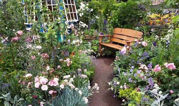 Peony Love Quote Wallpaper Alan Titchmarsh Tips On Creating A Secret Garden Garden