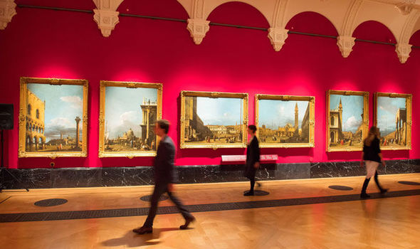 Lampen Queens Gallery Canaletto And The Art Of Venice Exhibition In The Queen's