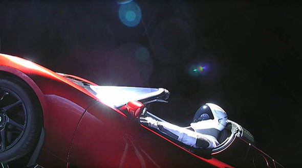 Elon Musk Car In Spac Wallpaper Spacex Launch Why Is There A Starman In The Tesla