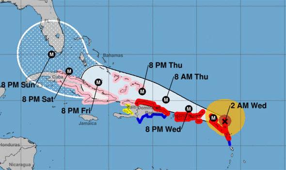 Hurricane Irma Florida track What time will Hurricane Irma hit
