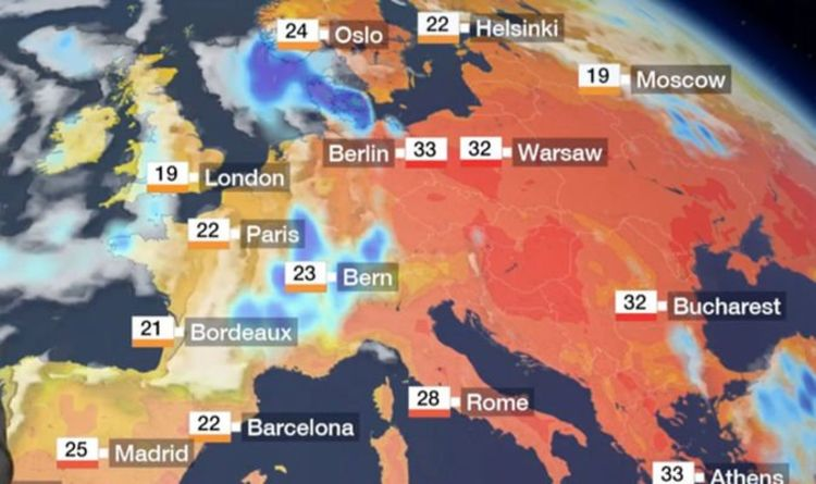 map of france weather