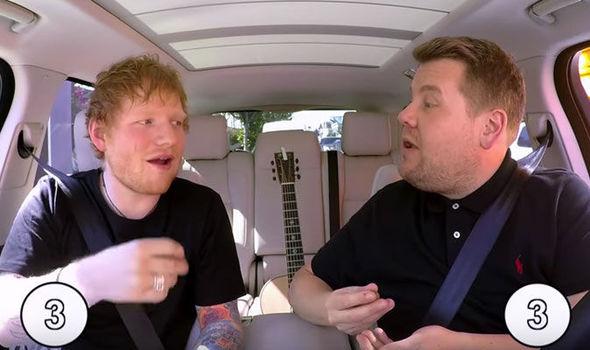 Ed Sheeran wins Maltesers battle with James Corden in Carpool