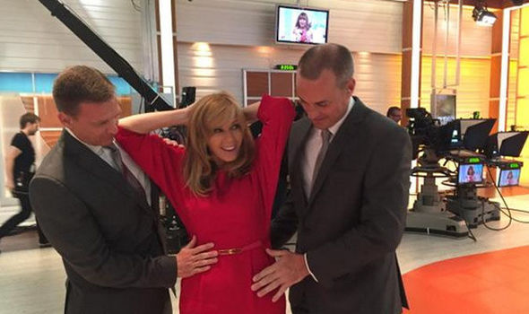 Kate Garraway Gets Frisked On Good Morning Britain After