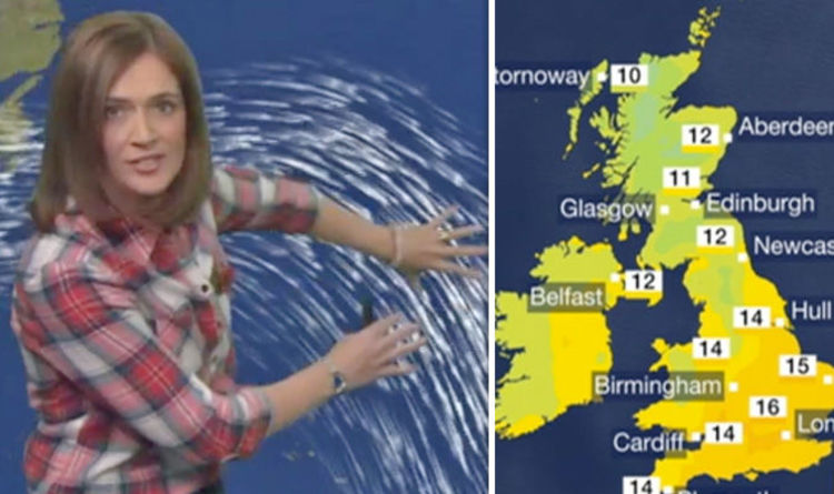 Countryfile Weather Mixture of rain and sunshine predicted for next