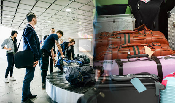 Lost luggage British travellers missing suitcases cost over £12
