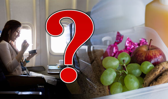 Are you allowed to take your own food on a plane? Most airlines
