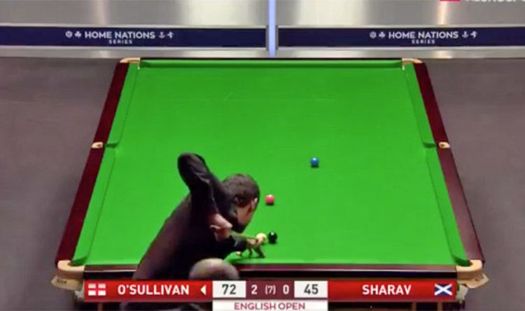 Ronnie Osullivan Nails Pot Of The English Open With