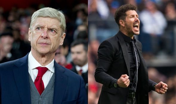 Image result for wenger simeone