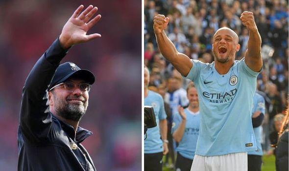 Man City News Vincent Kompany Pays Class Liverpool Tribute After Premier League Title Win