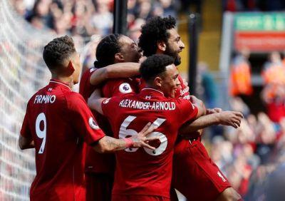 Liverpool 4-0 Brighton AS IT HAPPENED: Mohamed Salah wins Premier League Golden Boot | Football ...