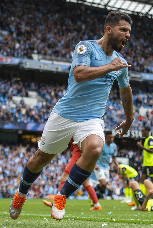 Man City 6-1 Huddersfield RESULT: Sergio Aguero scores hat-trick in emphatic victory   Football ...