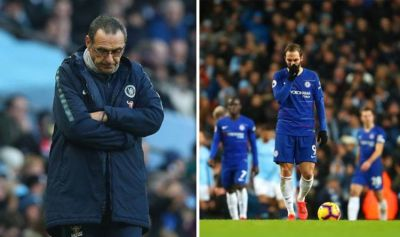 'Chelsea players are 'getting bored of it' - Redknapp slams Sarri during Man City rout ...