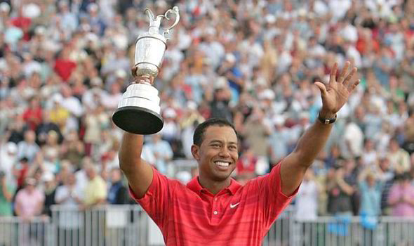 tiger woods open championship