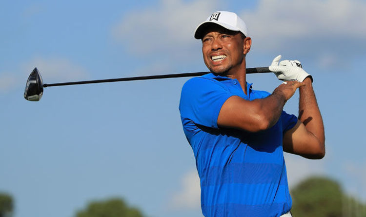 tiger woods tee time masters uk