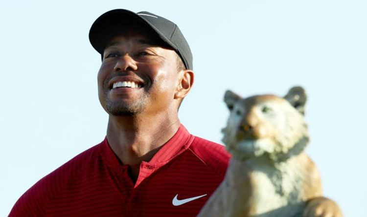 tiger woods daily schedule 2019