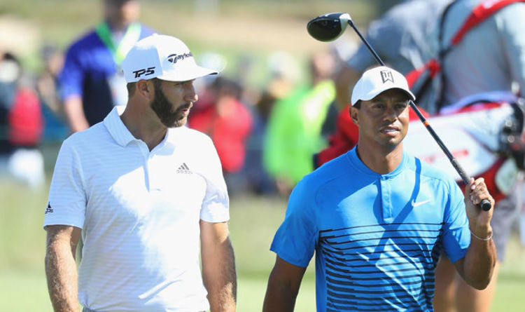 tiger woods tee time us open