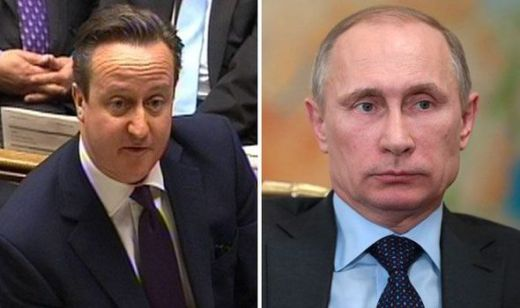 David Cameron may be forced to stop Vladimir Putin 039 s intervention
