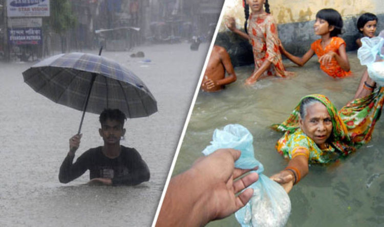 Huge Monsoon Flooding Kills 1200 In India Nepal And