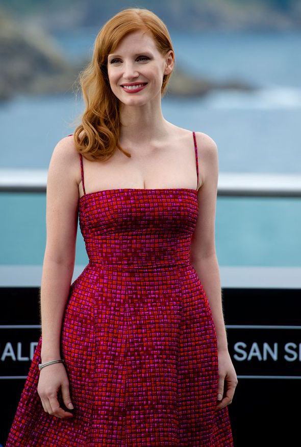 Dynamic Iphone X Wallpaper Gallery Jessica Chastain The Help Pink Dress