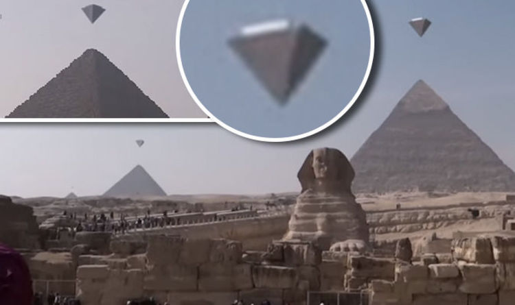 Ufos Over Pyramids Crystal Clear Footage Of Bizarre