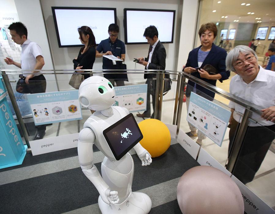 RETAIL SALES ASSOCIATE Nestle uses Pepper robots to sell Dolce - retail sales associate