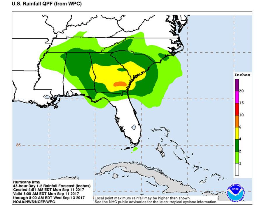 Hurricane Irma track Where is Hurricane Irma now? When will Irma