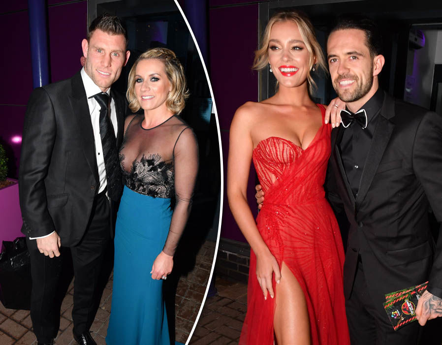 Liverpool Players And Wags Attend James Milner39s Charity