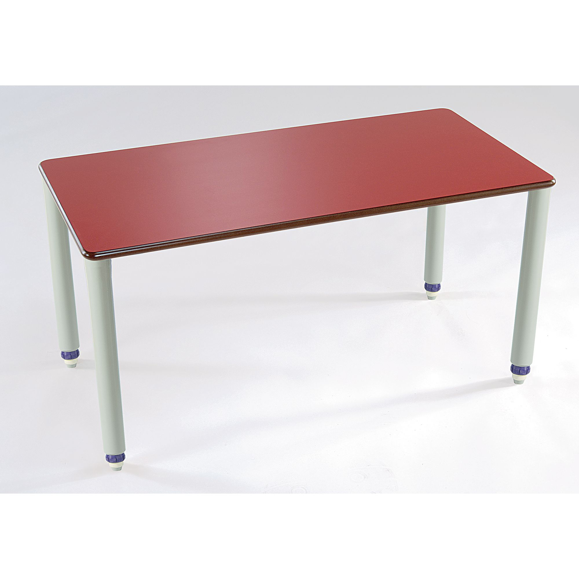 Table Polypropylène Galt Rectangular Wood Polypropylene Classroom Table 1000 X 700 X 405 To 640mm Blue Ea