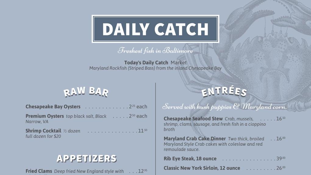 iMenuPro · Restaurant Menu Maker Menu Design, edit menus online easily
