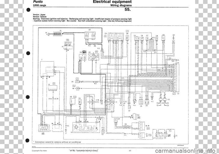 fiat punto 2007 wiring diagram