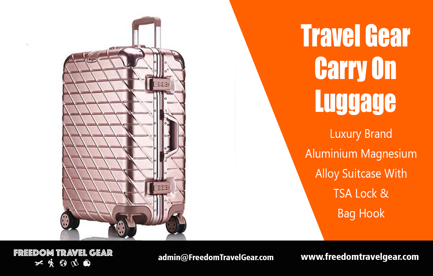 2018 Travel Gear Travel Gear Carry On Luggage Https Freedomtravelgear