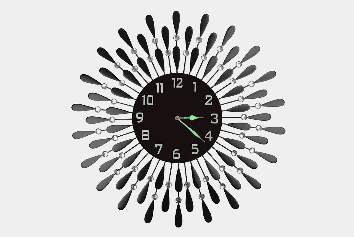 Black Wall Clock The 19 Most Unique Wall Clocks Improb