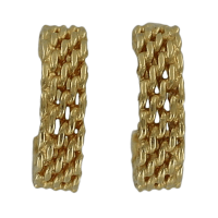 Tiffany and Co. - Tiffany & Co. Somerset Woven Gold Hoop ...
