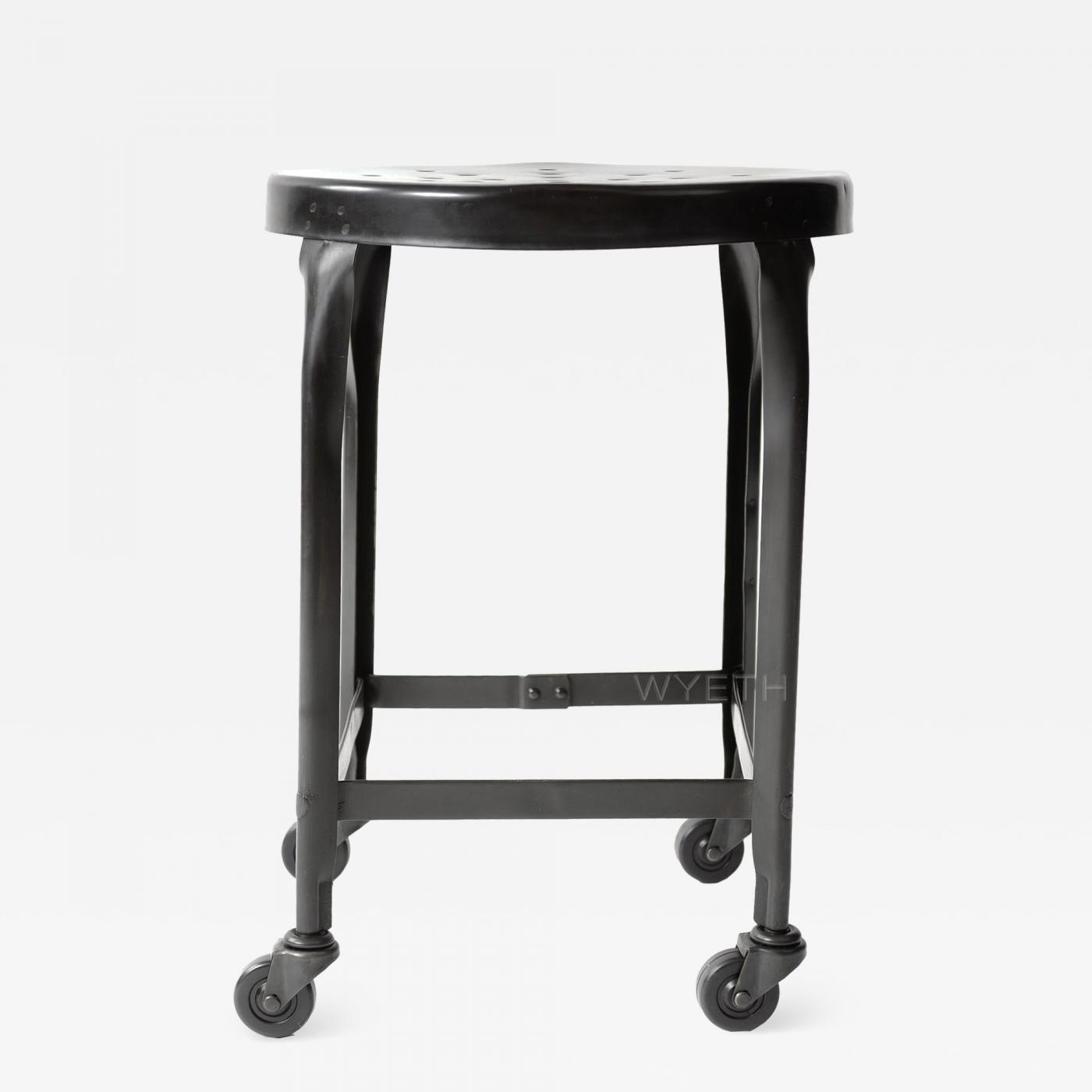 Toledo Metal Furniture Co Stool
