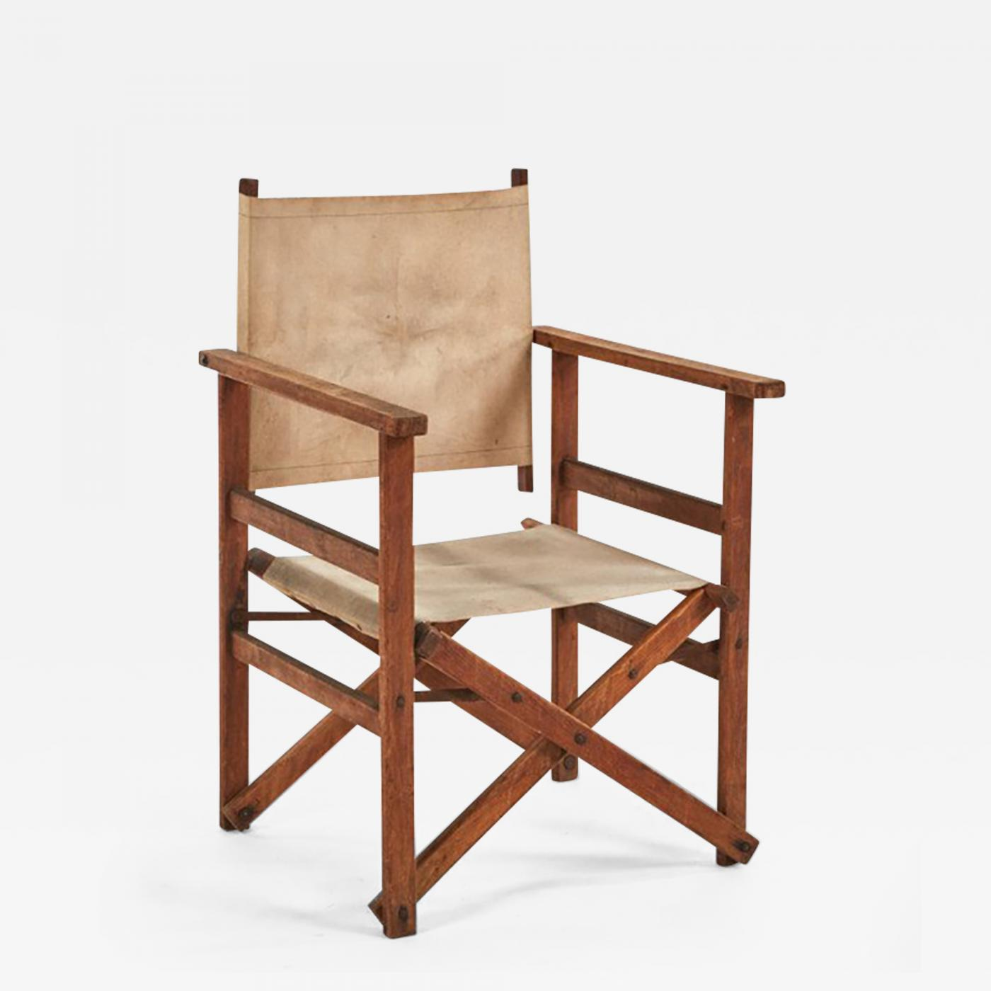 Collapsible Chair A Collapsible Canvas Director 39s Chair