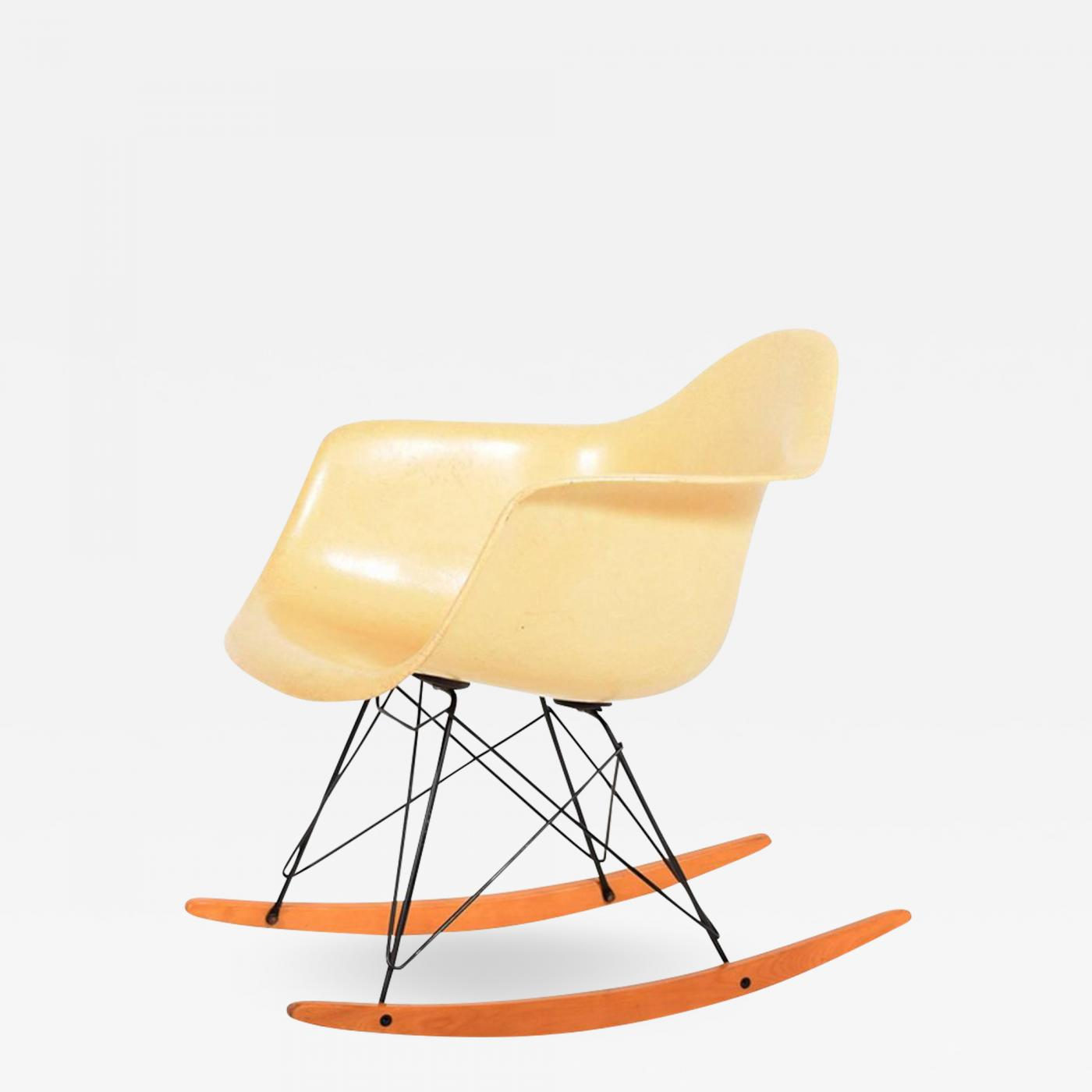 Eames Rar Charles Eames Rar Second Edition Rocking Armchair By Charles Eames For Herman Miller