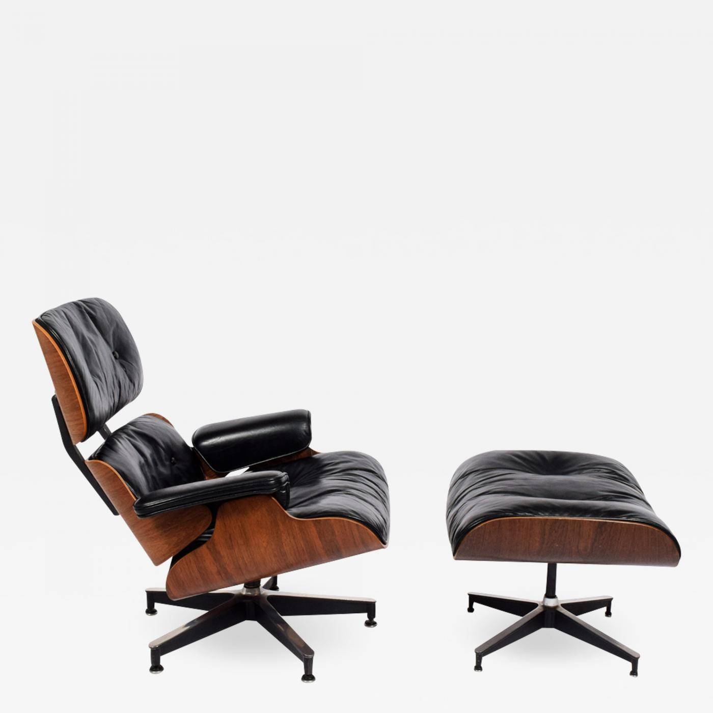 Charles Eames Lounge Chair Charles Eames - Rosewood Lounge Chair And Ottoman 670/671 By Charles Eames For Herman Miller